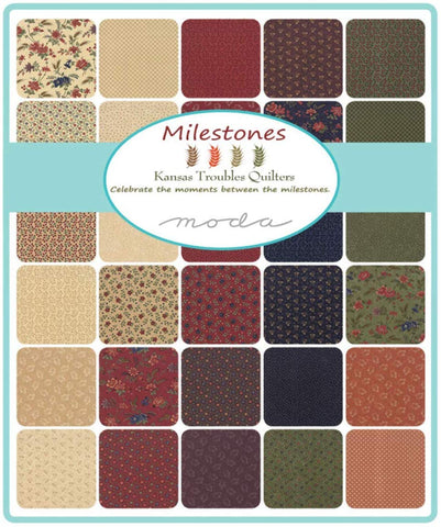 Milestones by Kansas Troubles; 40 Fat Quarter Bundle - Moda Fabrics