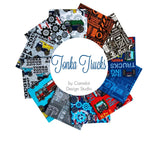 Tonka Trucks; 12 Fat Quarter - Camelot Fabrics