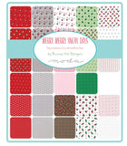 Merry Merry Snow Days Layer Cake by Bunny Hill Designs, 42-10 inch Squares - Moda Fabrics