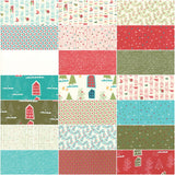 Moda Oh What Fun Jelly Roll by Sandy Gervais; 40 2.5 inch strips - Moda