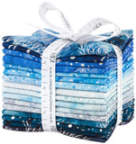 Artisan Batiks: Northwoods 8 - Evening by Lunn Studios; 16 Fat Quarters - Robert Kaufman