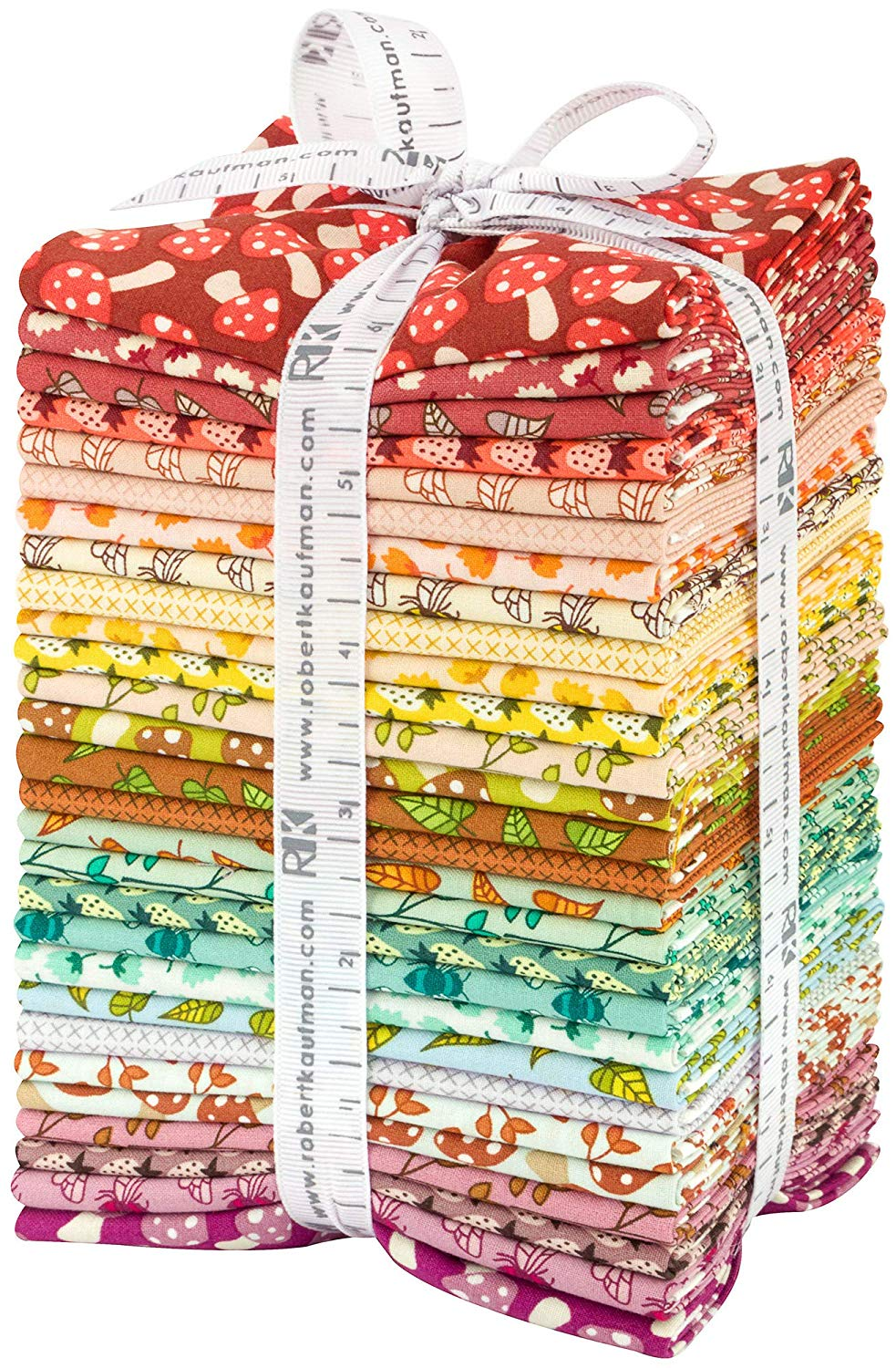 Berry Season - Elizabeth Hartman;  28 Fat Quarters - Robert Kaufman Fabrics