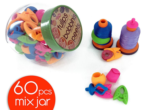 The Original - 60 Pieces MIX NOTIONS JAR