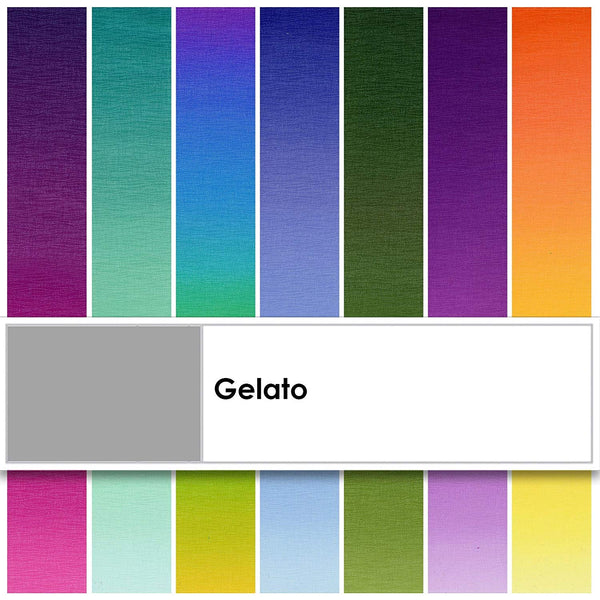 Gelato Strips 40 2.5-inch Strips Jelly Roll Elite