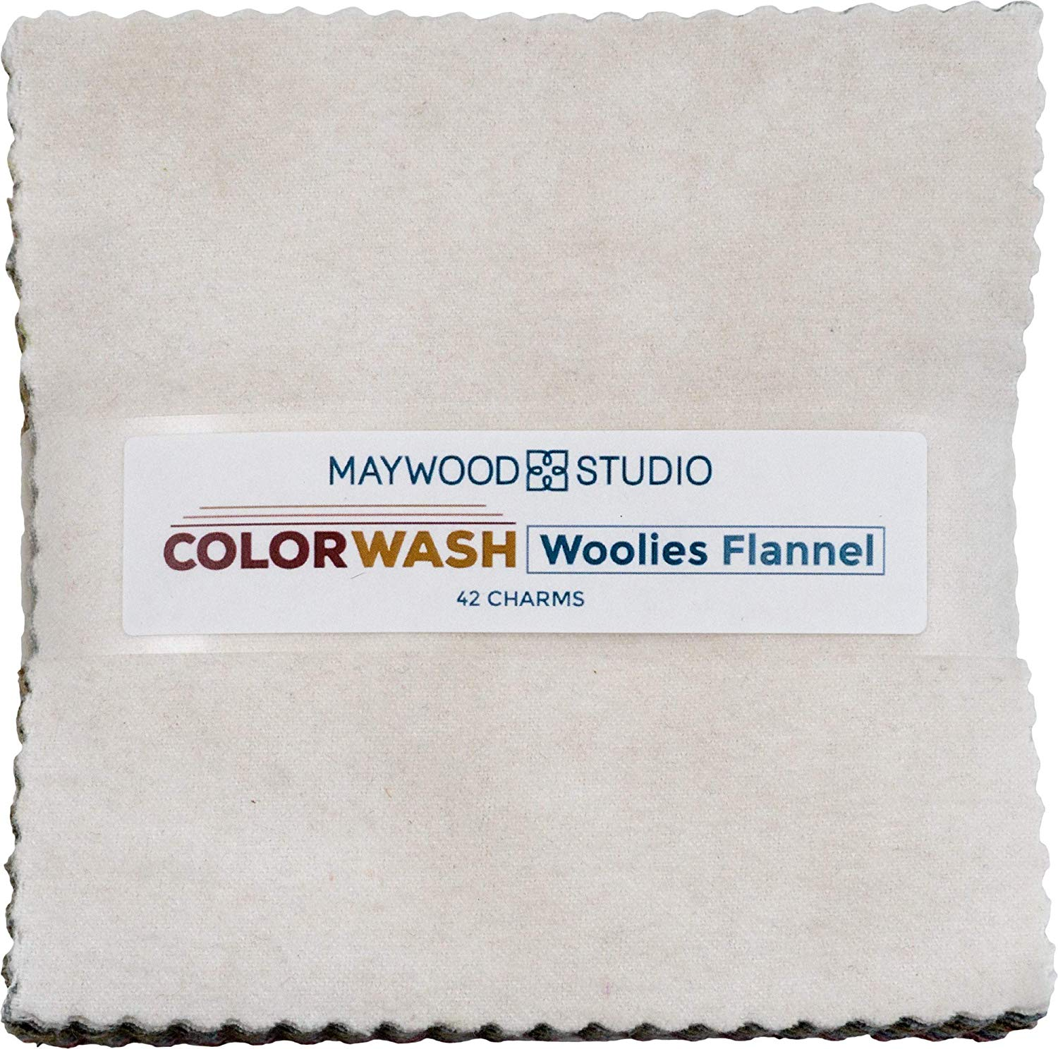 "Woolies Flannel Color Wash by Bonnie Sullivan; 42  5"" Squares - Maywood Studio"