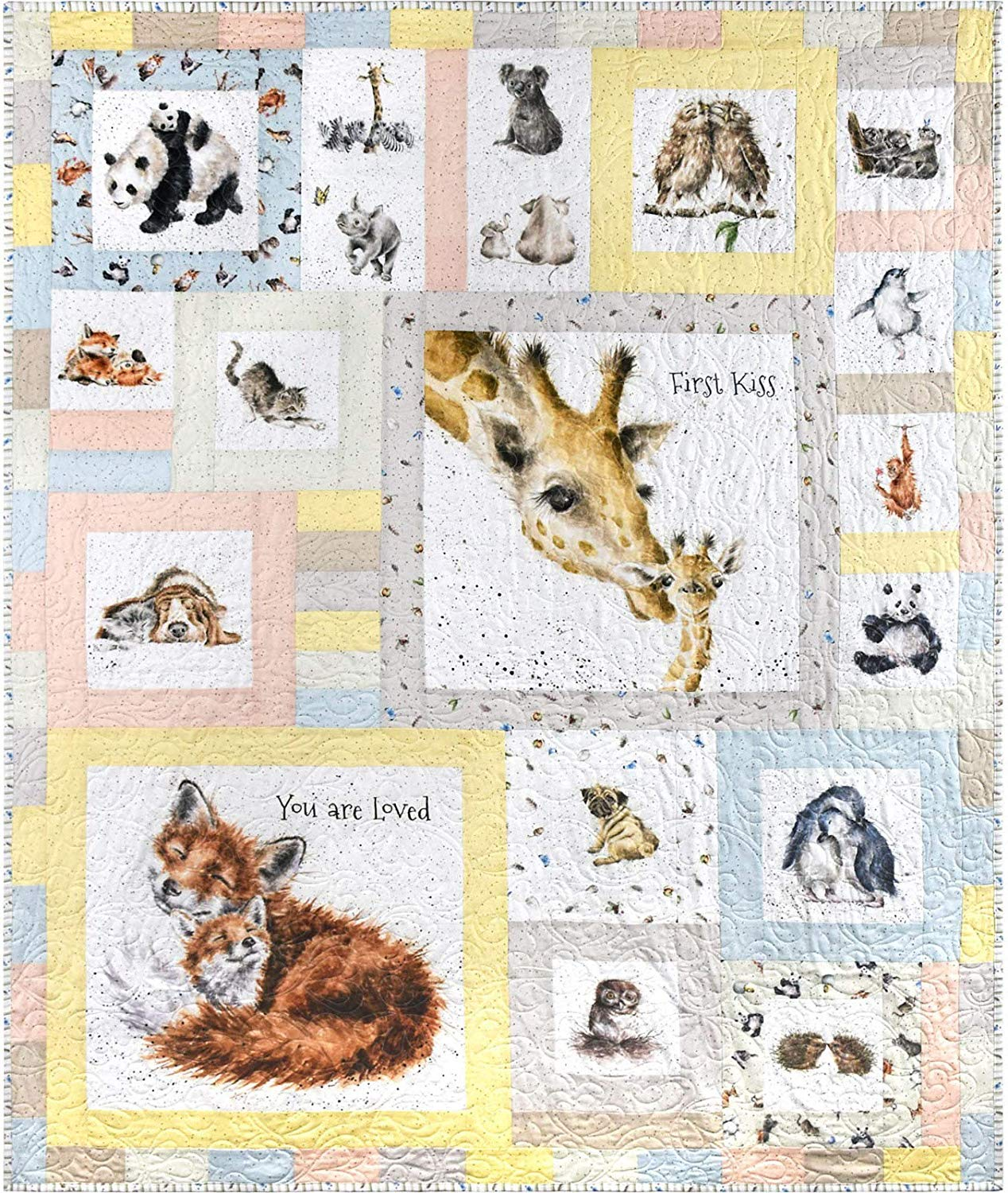 Love is… Quilt Kit by Hannah Dale - Maywood Studio