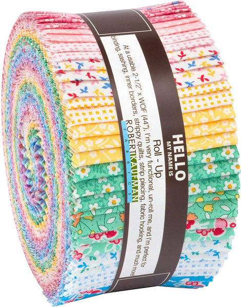 Southern Belles Multi Roll Up by Darlene Zimmerman; 40 2.5-inch Strips - Robert Kaufman