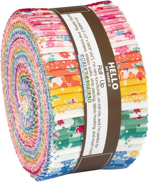 Darlene's Favorites Roll Up by Darlene Zimmerman; 40 2.5-inch Strips - Robert Kaufman