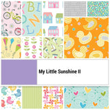 My Little Sunshine II Strip-pies by Cherry Guidry; 2.5-inch Strips - Benartex