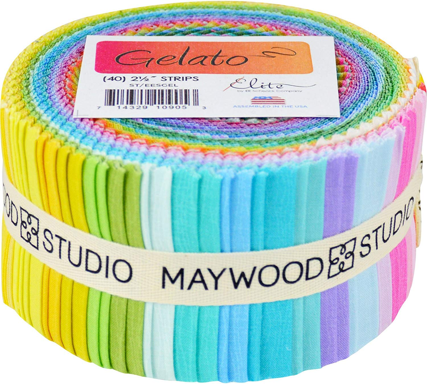 Gelato Strips by Elite; 40 2.5-inch Strips - Maywood