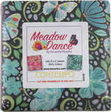 Meadow Dance by Amanda Murphy; 42 5-inch Squares - Benartex