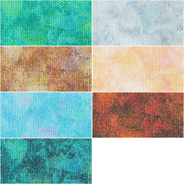 Atlantia New Colors 2019 Roll Up; 40 2.5-inch Strips - Robert Kaufman Fabrics