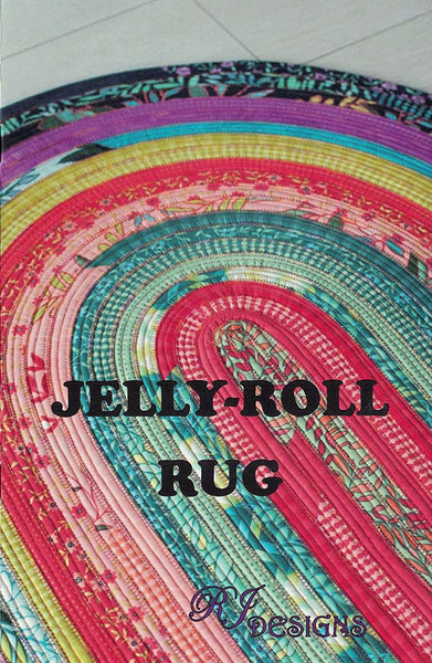 Jelly Roll Rug: Original Oval, Rectangular Colossal Round