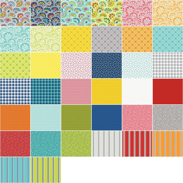 Nancy Halverson Bree by Nancy Halverson; 42 5-inch Squares - Benartex