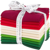 Kona Cotton Solids: Holiday; 12 Fat Quarters - Robert Kaufman