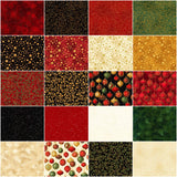 Winter's Grandeur 7: Holiday Ten Square by Studio RK;  42 10-inch Squares - Robert Kaufman