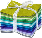 Colorstory: Chalk and Charcoal - Cool by Jennifer Sampou; 20 Fat Quarters - Robert Kaufman