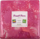 Fossil Fern Bright 10X10 Pack 50 10-inch Squares Layer Cake Benartex