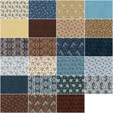 Charlotte 1860 by Carrie Quinn; 42 5-inch Squares - Robert Kaufman