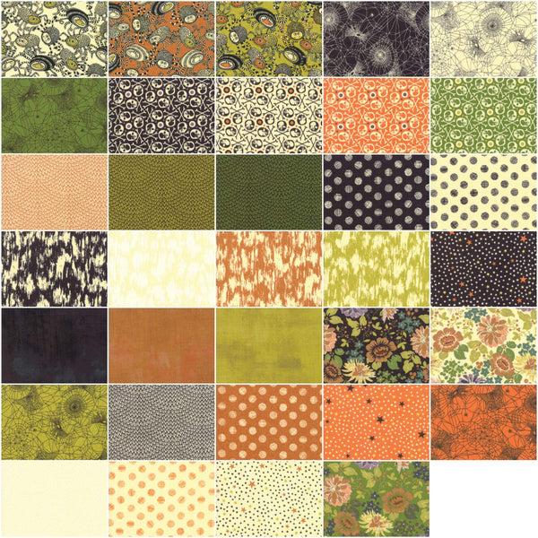 Hallo-Harvest Jelly Roll by BasicGrey; 40 2.5-inch Strips - Moda Fabrics