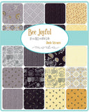"Bee Joyful Layer Cake by Deb Strain; 42 10"" Squares - Moda"
