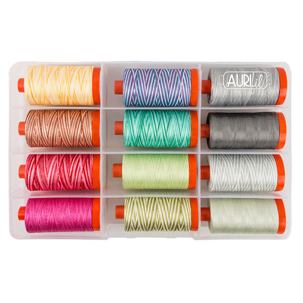 Aurifil Thread Set - Premium Collection by Tula Pink - 12 Spools