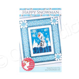 Happy Snowman Quilt Pattern