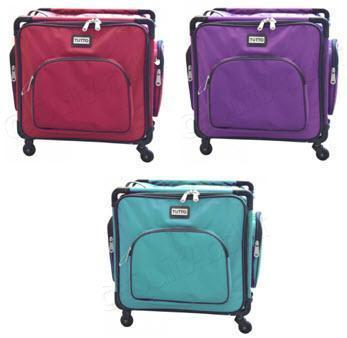 "Tutto 20"" Serger On Wheels - Tote Case"