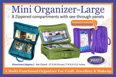 Yazzii - Mini Craft Organizer - Large - Available in Various Colors