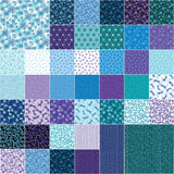 Pearl Reflections by Kanvas Studio; 10-inch Squares -Benartex