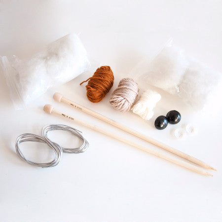 Sincerely Louise - Faux Deer Knitting Kit