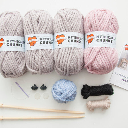 Sincerely Louise - Faux Unicorn Knitting Kit