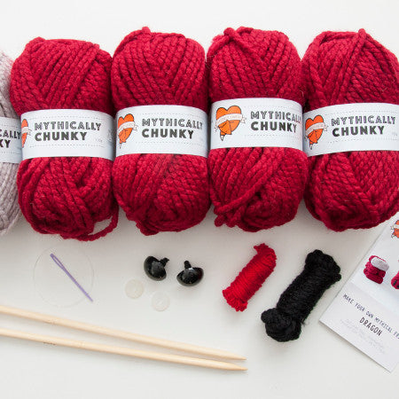 Sincerely Louise - Faux Dragon Knitting Kit
