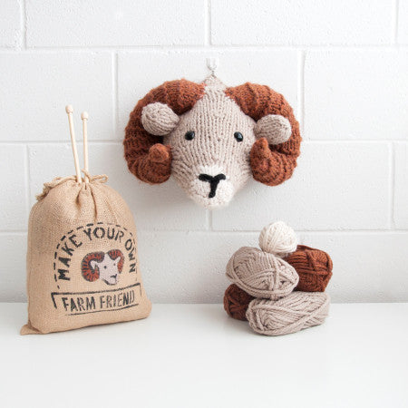 Sincerely Louise - Faux Ram Knitting Kit