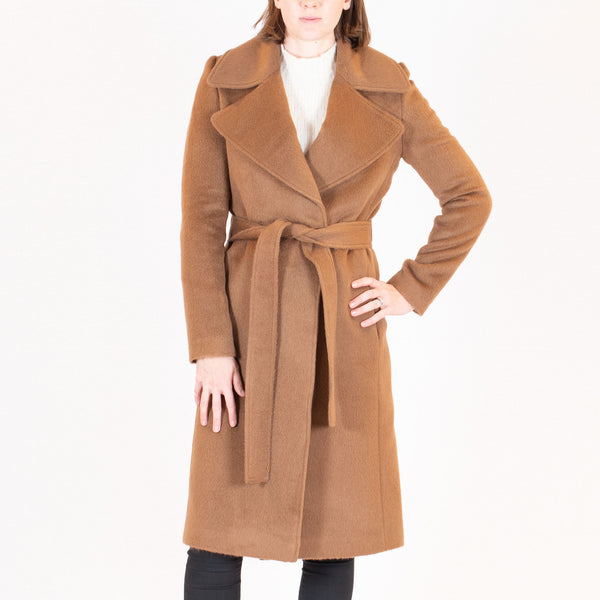 Long Suri Wrap Coat