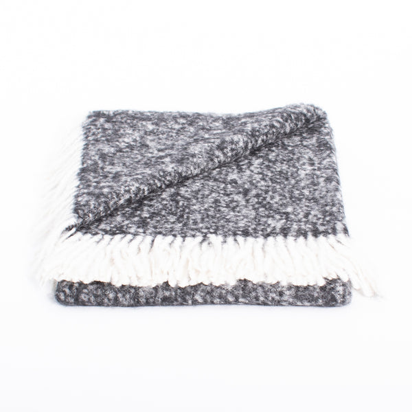 Brushed Boucle Alpaca Throw