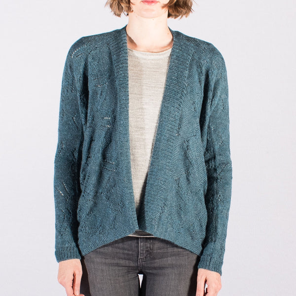 Curved Detail Cardi