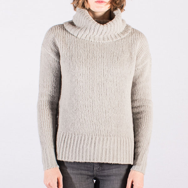 Roll Neck Knit with Side Splits