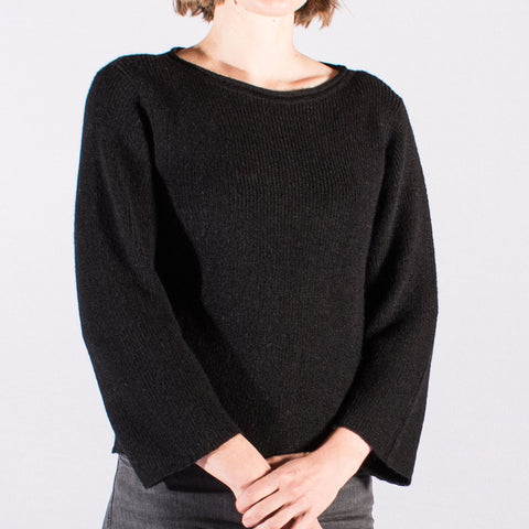 Bell Sleeve Knit