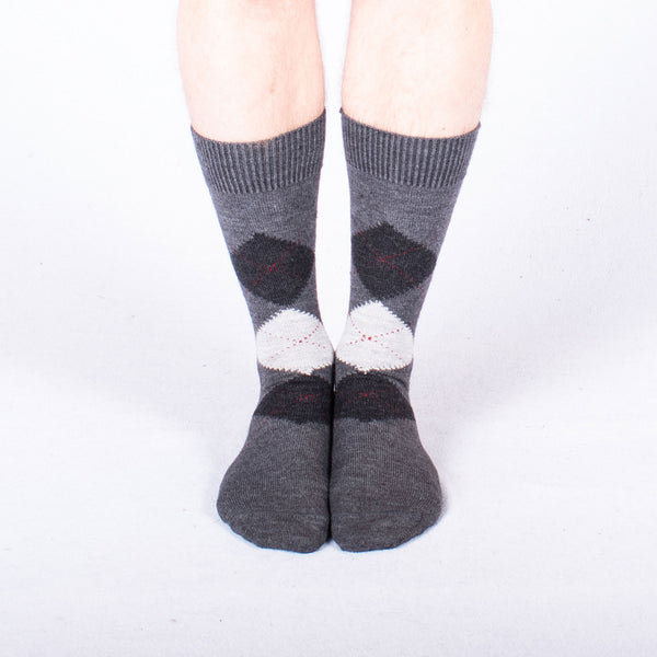 Mens Argyle Socks