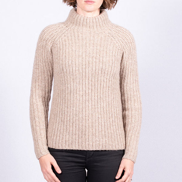 Funnel Neck Knit