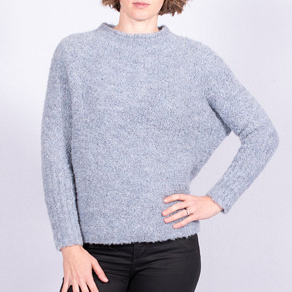 Batwing Boucle Jumper