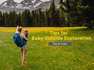 Tips for Baby Outside Exploration