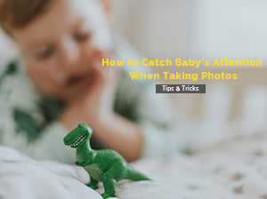 How to Catch Baby's Attention When Taking Photos
