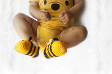 Moskka 100%Milk Cotton Crochet Baby Bee Shoes - Moskka