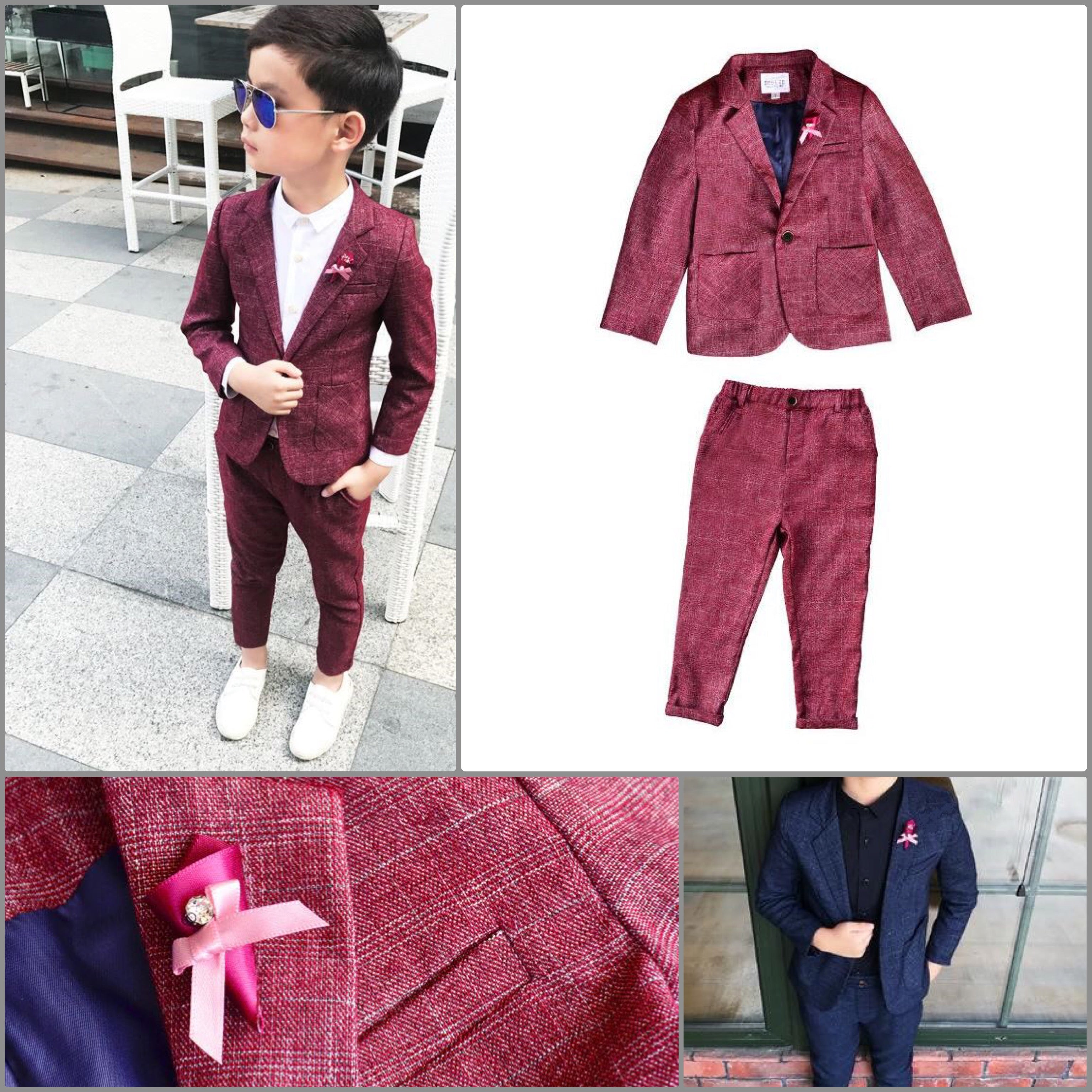 'Alfie' Fitted Suit