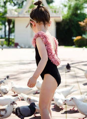 'Petals' Matching Mother/Daughter Swimsuit