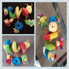 'Friendly Caterpillar' Wrap-Around Car Carrier Toy