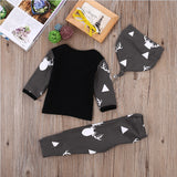 Boys 3-pc Long Sleeve Autumn Theme Outfit