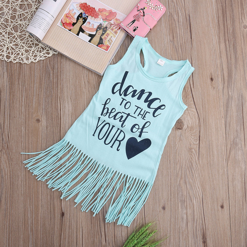 Dance Tassel Top Shirt